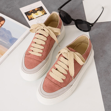 Maggie's Walker WomenCasual Shoes More Colors Autumn Lacing Shoes Candy-colored Canvas Shoes Size 33~40