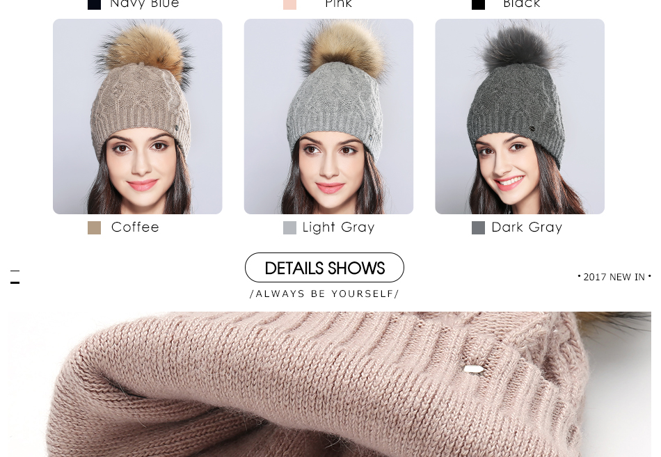 woman winter hats MZ710B (5)