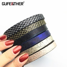 Buy GUFEATHER Diy PU leather cord classic series/jewelry accessories/leather findings/diy jewelry accessories/bracelet cords for $1.29 in AliExpress store