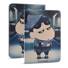 For Apple iPad mini 4 case Cartoon anime Tablet Personal Computer Faux Leather Protective Shell/Skin Fashion Shockproof