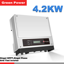 GW4200-NS Goodwe solar energy inverter,,USB/RS485/WIFI communication optional,high quality inverter TUV IEC VDE certification