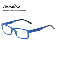 Reading Glasses Quality Fashion Men and Wome Spring Hinge Eyewears Clear Lens Plastic Color Eyeglasses Occhiali Da Lettuar
