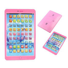Spanish Learning Machine education Toys intelligent kids laptop Children's Computer Y Pad For Kids [NF] TY