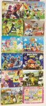 Free shipping premiums GC-PTK-OPP Multicolor 9.4 X 7.5 cm 192PCS Cartoon Jigsaw puzzles manufacturer toy 12sets/lot
