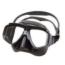 High quality Low volume freediving mask Tempered glass lens scuba diving mask Myopia lens snorkel mask for adult nearsight diver(China)