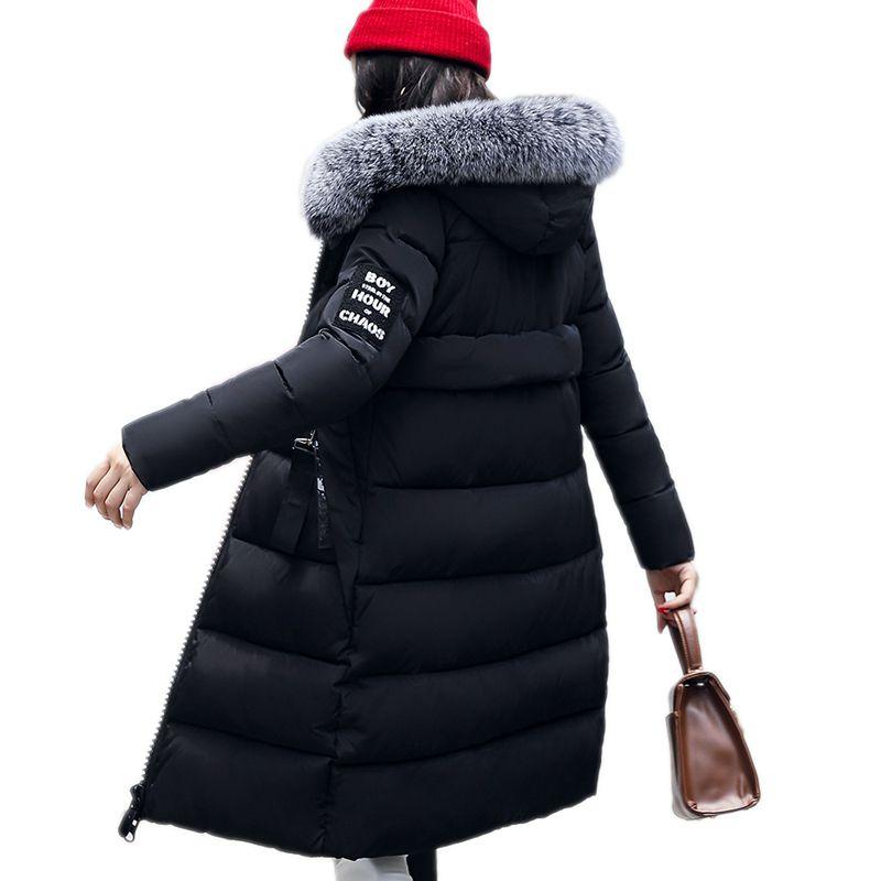 2017 New Real Ukraine Novelty Winter Coat Womens Jackets Long Cotton Park Large Hooded Insulated High-quality Clothing Îäåæäà è àêñåññóàðû<br><br>