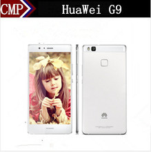 "DHL Fast Delivery Original HuaWei G9 P9 Lite 4G LTE Mobile Phone Octa Core Android 6.0 5.2"" FHD 1920X1080 3GB/16GB Fingerprint(China)"
