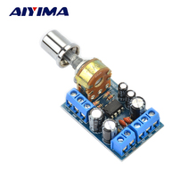 Aiyima TDA2822M Mini 2.0 Channel Stereo Amplifier Board(China)