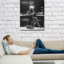 POPIGIST-CONOR McGREGOR Muhammad Ali UFC MMA Motivational Poster 13x20 32x48 inches Picture For Living Room Decor (NEW)