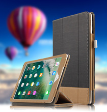 Book Leather Case for iPad Pro 10.5 inch Tablets Accessories Business Cover for apple ipad Pro 10.5 PU Stand Cases Fashion Retro(China)