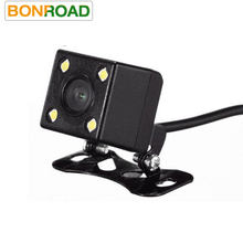Bonroad Good Quality Car Rear View Parking Camera With HD Night Led Lights For DVD Back up Camera With Parking Line(China)