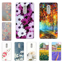 Buy lenovo k6 note case,Silicon Flower Plants Painting Soft TPU Back Cover lenovo k6 note protect Phone shell for $1.49 in AliExpress store