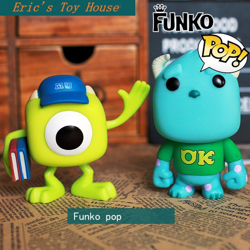 Original Funko pop Monsters University -  Mike Wazowski, Sulley Vinyl Figure Collectible Model Toy with Original Box<br><br>Aliexpress