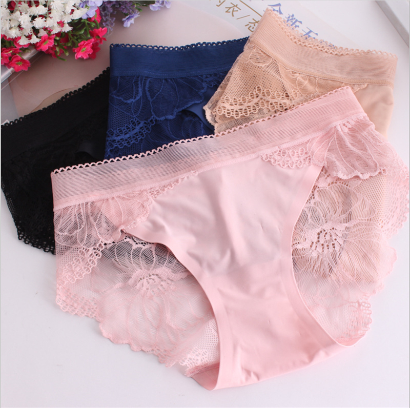 Soft Women Knickers Cotton Underwear Oversize Milk Silk Panties Bamboo Fiber