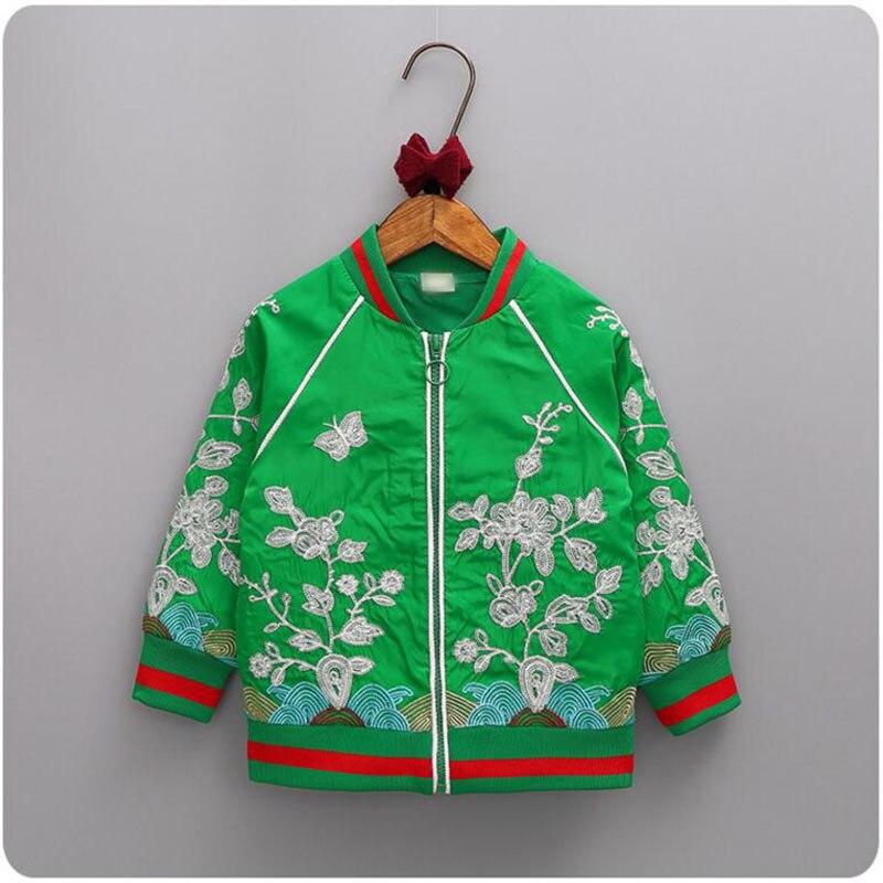 ROMIRUS Baby girls coats jackets 2017 high-end Brand Children Outwear embroidery Kids Coat boy Baseball Clothing Sweatershirt<br><br>Aliexpress