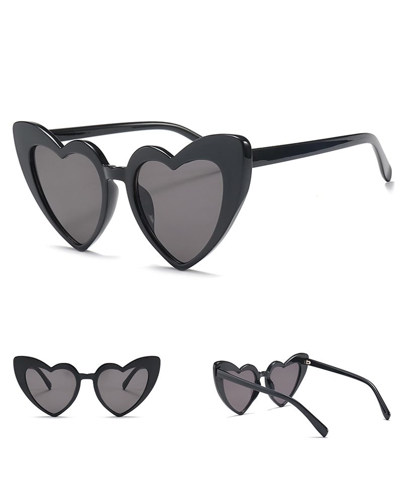 love heart sunglasses women cat eye vintage 7112 details (3)