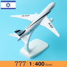 16cm Alloy Metal Air El Al Israel Airlines Boeing 777 B777 Airways Airplane Model Plane Model W Stand Aircraft Gift