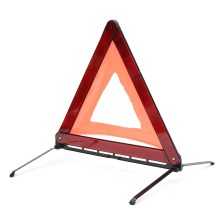 NEW Reflective Traffic Warning Sign Car Triangle Foldable Standing Tripod Emergency(China)