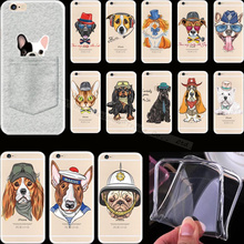 For iPhone5S Top Lovely Painting Pet Cute Dogs Silicon Phone Cover Cases For Apple iPhone 5 5S SE iPhone5 Case Shell Newest Hot