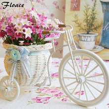 Floace Rattan flowers artificial flower set home furnishings silk flower dining table decoration flower