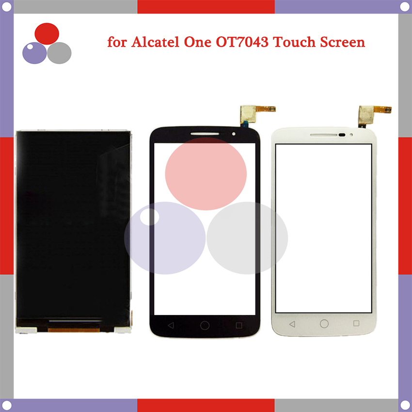 10Pcs/lot for Alcatel One Touch Pop 2 (5) OT7043 7043 7043Y/A/E/K LCD Screen Display + Touch Screen Digitizer Assembly<br><br>Aliexpress
