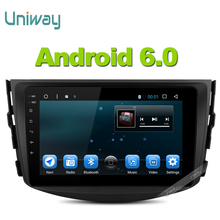 Uniway 2G+16G  android 6.0 car dvd for Toyota RAV4 2007 2008 2009 2010 2011 car radio stereo gps navigation with steering wheel