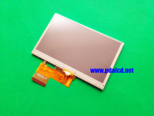 Free shipping 4.3inch LCD with touch screen AT043TN24 V.4 for garmin NUVI 2495LM Display screen 20000494-14(China)