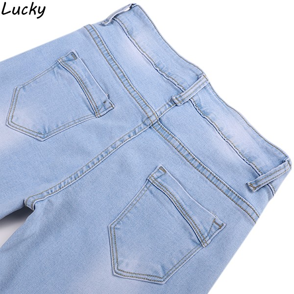 New Brand Fashion Women Jeans Denim Pants Lace Splice Mid Waist Jeans Hollow out Casual Women Denim Pencil Pants Trousers 41Одежда и ак�е��уары<br><br><br>Aliexpress