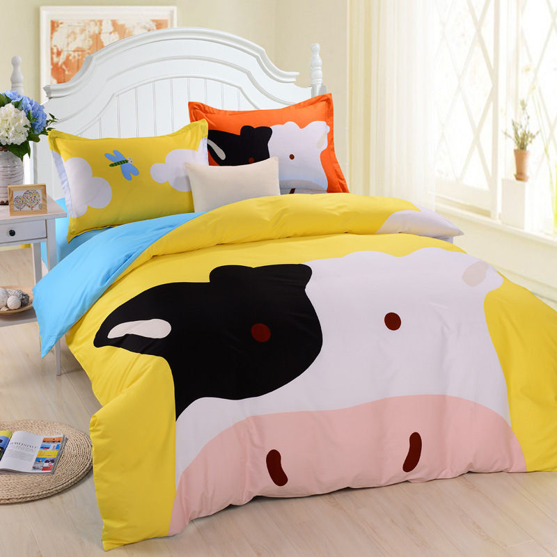 Cow Bed Sheets