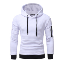 2017 New High-End Casual Hoodie Men'S Fashion Unique Korean Style Long-Sleeved Sweatshirt(China)