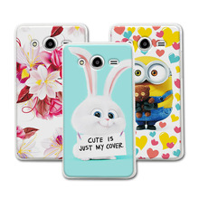 Cute Cartoon Hard Plastic Case Coque For Samsung Galaxy Core 2 Duos SM-G355H Dual G355H G355 Colorful Mermaid Cover Funda Capa