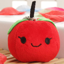 Buy 5 get 5! 7cm Apple Mini Doll Pendant for baby cradle Best child educational toys Let children know fruits and vegetables(China)