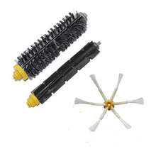 Replacement Brush For iRobot Roomba 700 series 760 770 780 Bristle Brush Flexible Beater Brush sidebrush vacuum cleaner Parts(China)