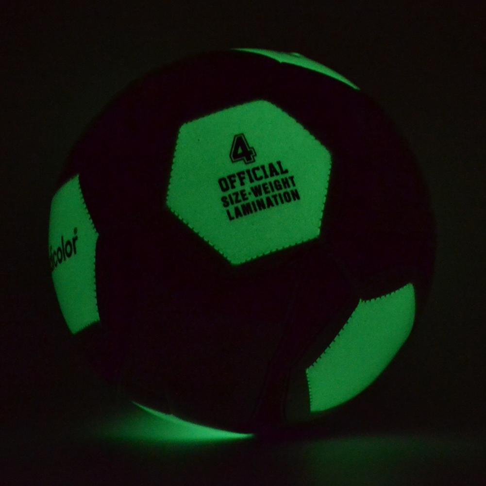 كرة القدم مضيئة ضوء الليل متعدد الاحجام 6