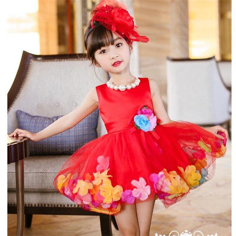 MQA L108 baby girl clothes kids girl dress children girl beautiful princess party marry wedding design girl wear new arrival <br><br>Aliexpress