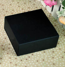 inner size10*10*5CM  Black Drawer kraft paper gift box/ food biscuit cooky paper box/bread Cake paper box 100piece\lot
