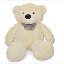 stuffed animal 80 cm teddy bear plush toy soft bear doll white colour gift w2916(China)