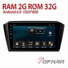 Car Head Unit for VW Magotan 2017 10.1'' Android 6.0 WANUSUAL Auto Navigation Automotive Stereo with free Map Update Plug&play(China)