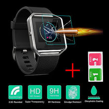 Luxury Screen Protector For Fitbit Blaze Smart Watch 0.3mm 2.5D 9H Premium Tempered Glass Film Explosion-proof Glass