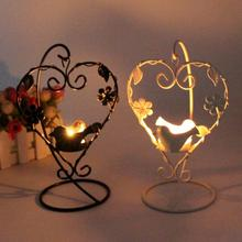 Candlestick 3 Styles Iron Moroccan Style Candlestick Candleholder Candle Stand Light Holder Lantern Home Decoration