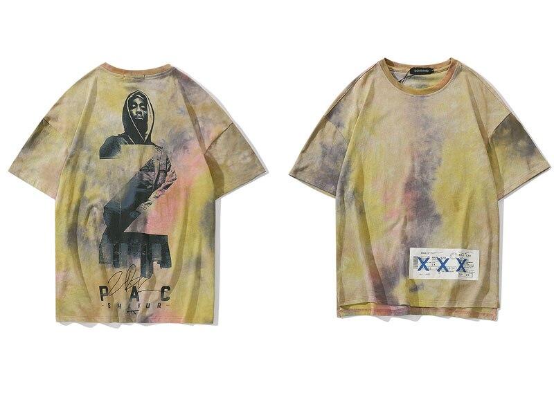 2Pac Tie Dye Tshirts 2