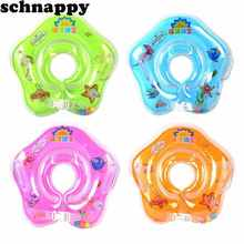 New swimming baby accessories swim neck ring baby Tube Ring Safety infant neck float circle for bathing Inflatable Newest Drop
