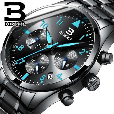 Switzerland Watches High Quality Luxury Brand Fashion Casual Auto Date Leather Strap Men Watch Japan Movement Quartz Wristwatch<br>