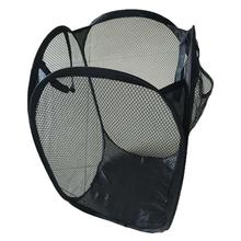 Storage bag Foldable Pop Up Washing Laundry Basket Bag Hamper Mesh Storage Drop shipping #XG(China)