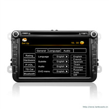 Support USB SD with GPS  Blue tooth FM/AM radio HD touch screen Windows CE 6.0 Special  8inch Universal VW Car  DVD PLAYER