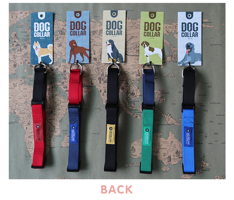 Outdoor Nylon Dog Collars Mascotas Pet Dogs Neck Straps Puppy Led Dog Collar Strong Colorful Wave 40-62CM Adjustable HD002004 (10)