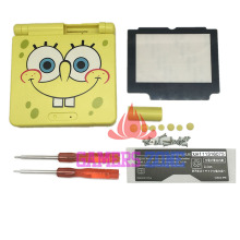 For Spongebob Limited Edition Housing Shell Case Cover for Gameboy Advance GBA SP