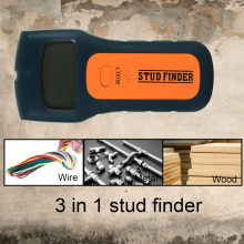 Stud finder metal detector AC voltage detector timber wood metal stud AC Wires Detector 3-in-1 wall scanner cable detector