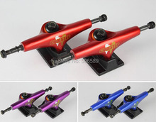 free shipping skateboard truck coolstep 5.0 inch red blue purple