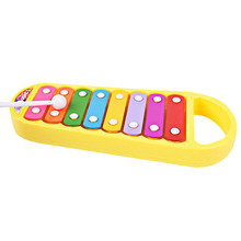 Children Piano Musical Toys Pull Octave Hand Knock Piano Educational Toy Musical Instrument Infant Baby Playing Type Toy(China)